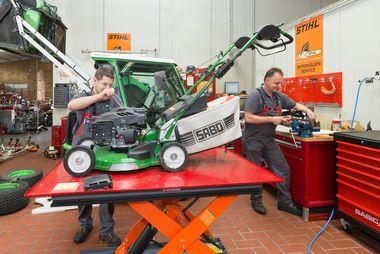Service für Gartentechnik