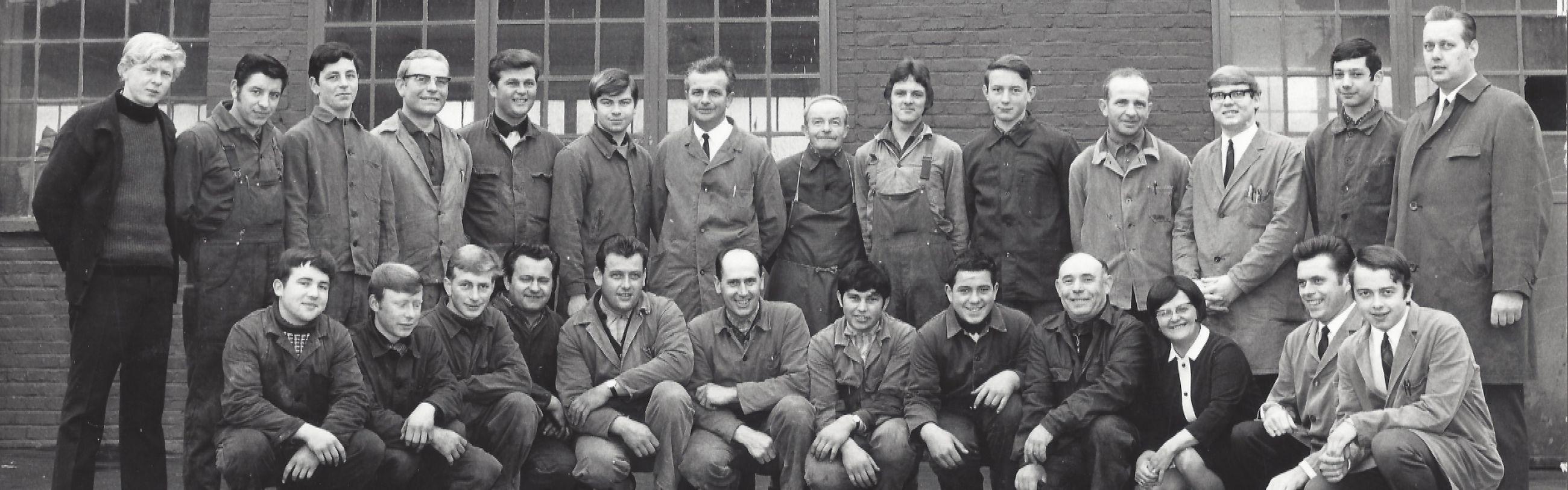 Gruppenbild 1969
