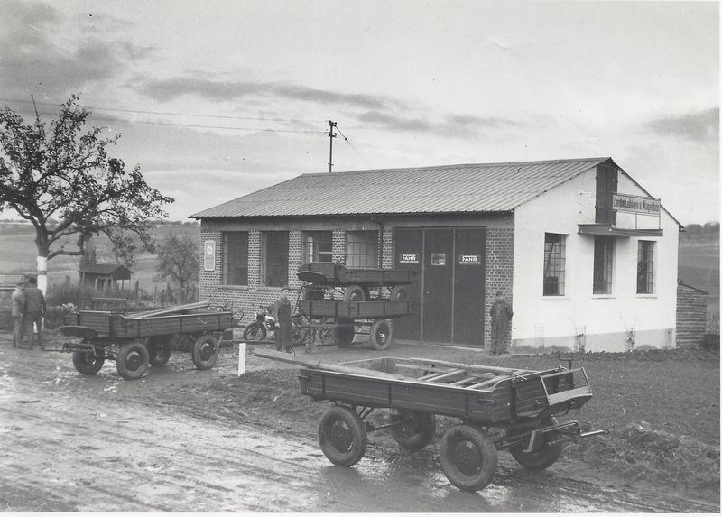 Werkstattgebäude 1952
